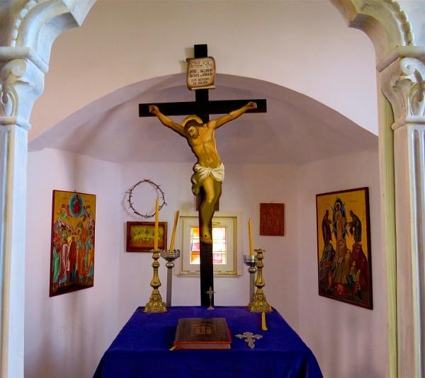 In an old Greek Church. by ddolfelin