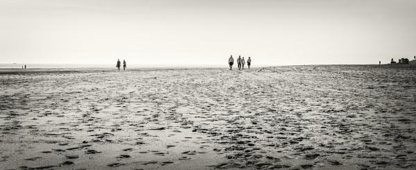 on the beach by mogobiker
