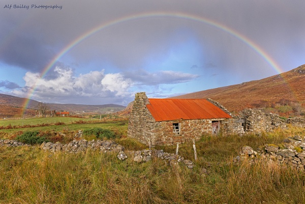Somewhere over a rainbow by Alffoto