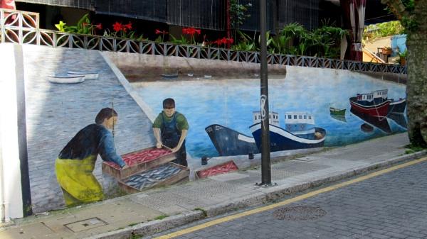 Wall Art. Algorta. Spain by Don20