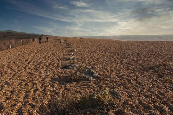 Chesil Beach by Janetdinah