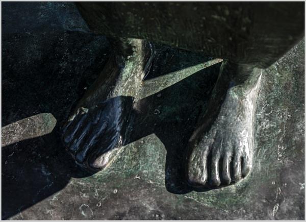 Barefoot in Bronze by AlfieK