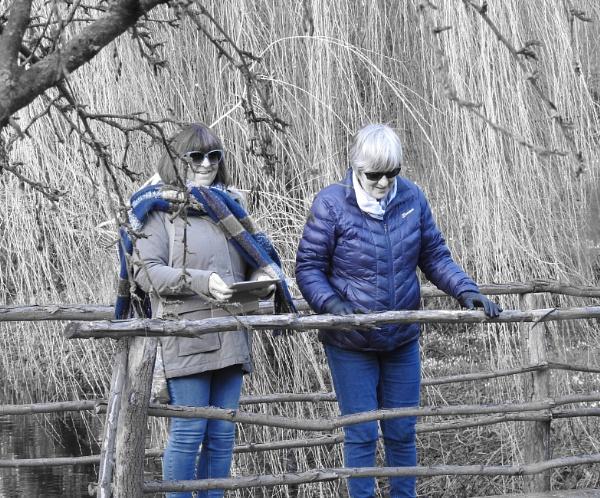 Blue veiw from a bridge by Alan26
