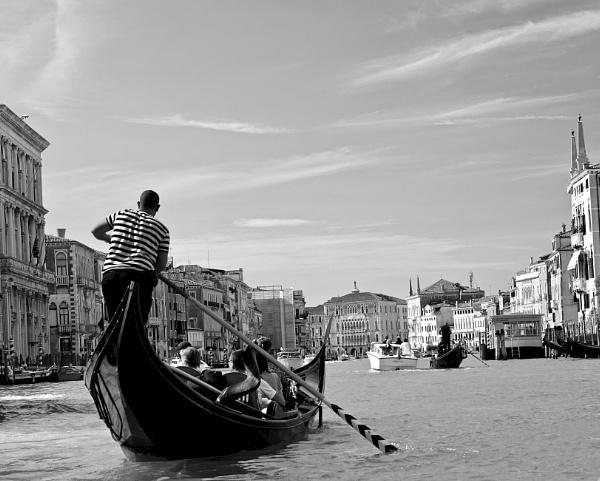 The Gondolier. by Debmercury