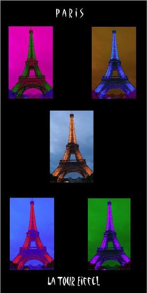 La Tour Eiffel Poster by billgoco