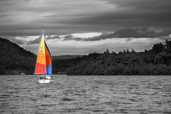 Sailing on Coniston Water by russthefoot