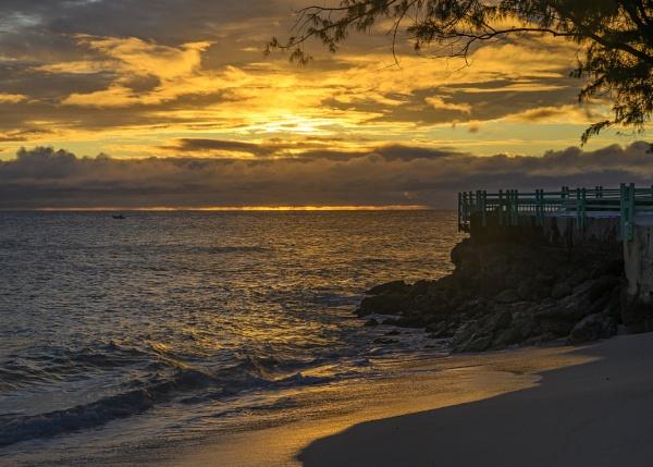 Sun Down, Coral Beach, Barbados by iancrowson