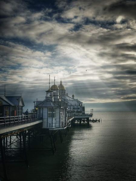 Winter Sunlight on Eastbourne Pier by StevenBest
