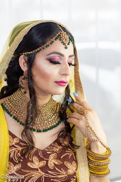 Bridal Portrait II... by Swarnadip