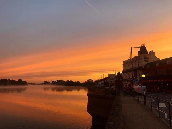 Sunrise in Barnes by kurtstar
