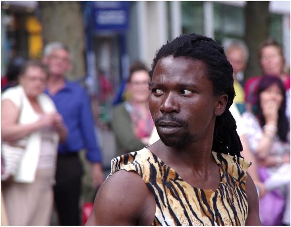 Street Performer, York by johnriley1uk