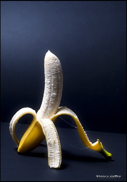 Upright Banana by Nodulespix