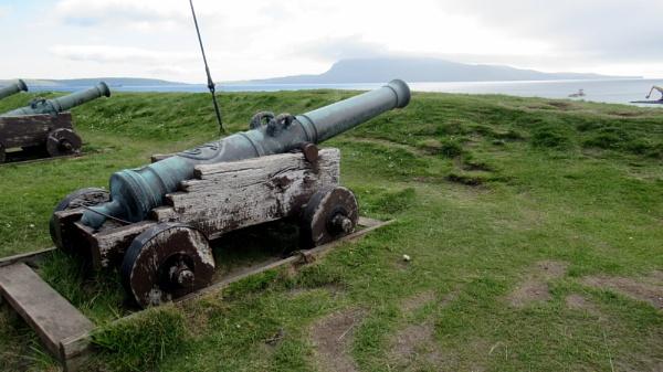 Gun Defences. Torshaven. Faroe Islands by Don20