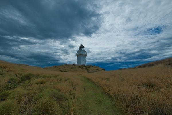Waipapa Point Lighthouse by Janetdinah