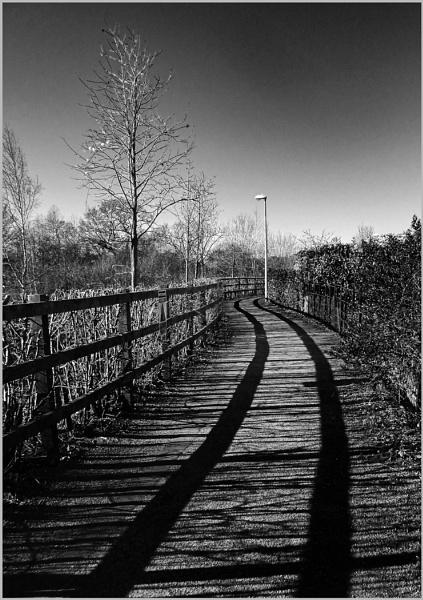 Early morning shadows. by AlfieK