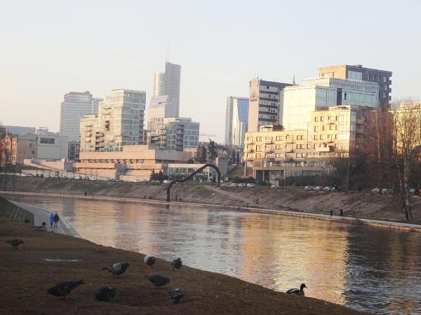 Urban landscape by Kabrielle