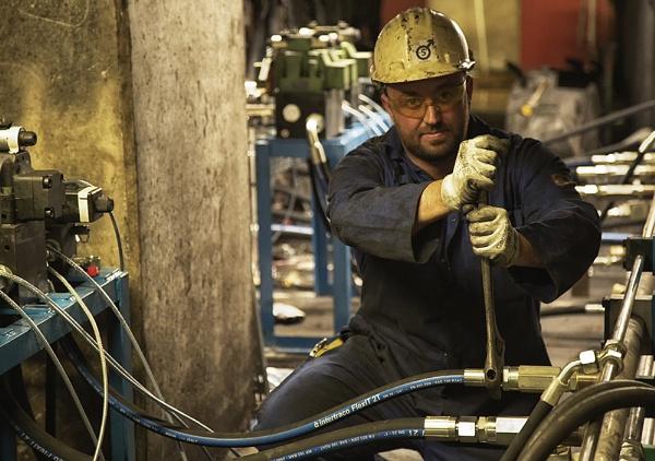 Man at Work by Buffalo_Tom