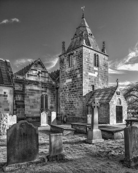 Corstorphine Old Parish Church by AndrewAlbert
