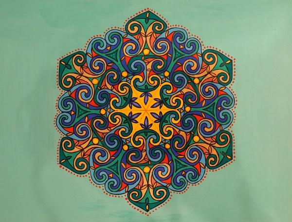 Celtic spirals by HobbitDave