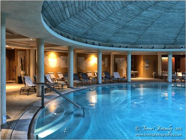 Hotel Cæsius: Indoor Pool by TrevBatWCC