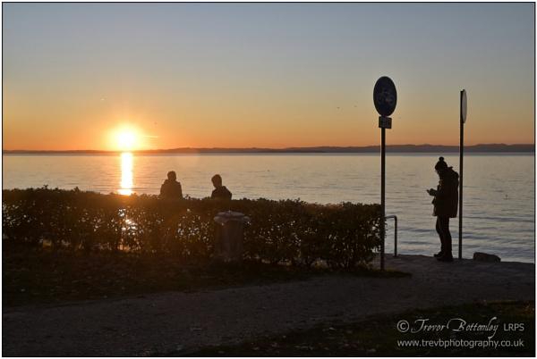 Lake Garda Sunset by TrevBatWCC