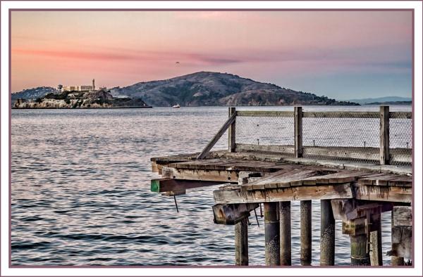 Alcatraz - Prisoners Wharf by tonyheps