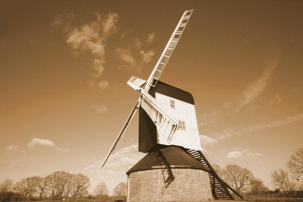 Windmill by bluetitblue