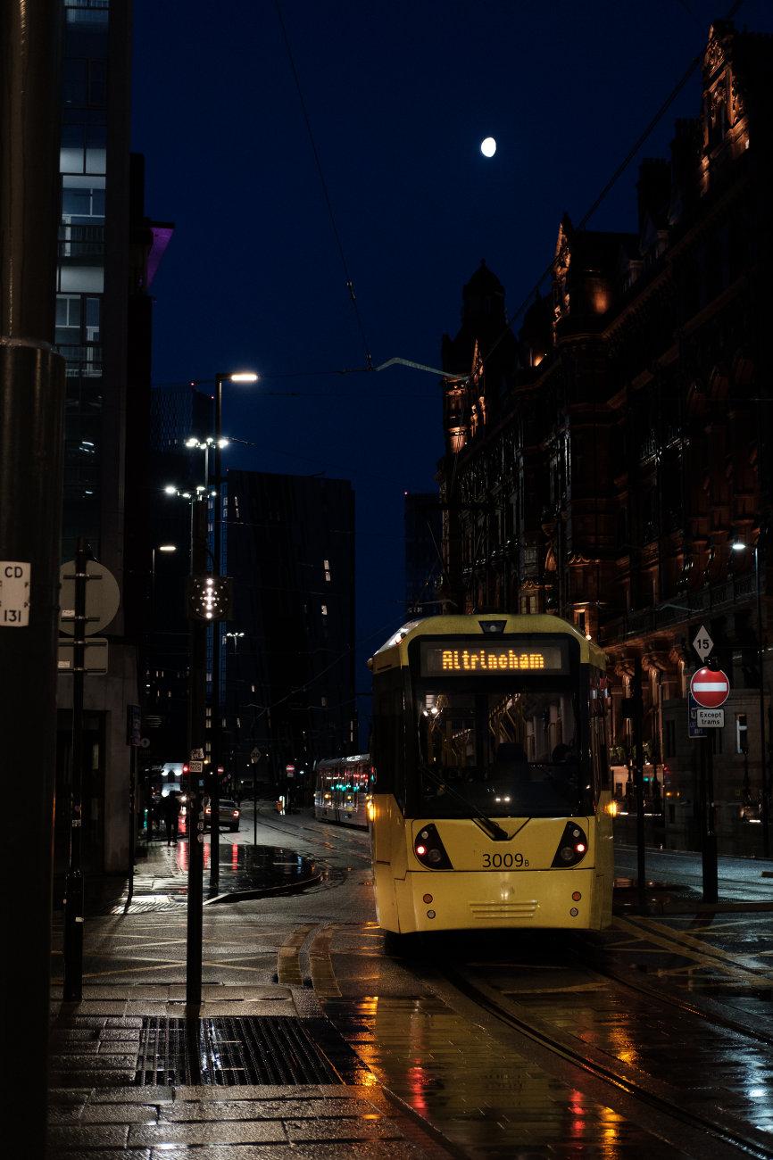 The city wakes