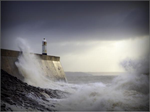 Storm Dennis. Porthcawl by ianblanchett
