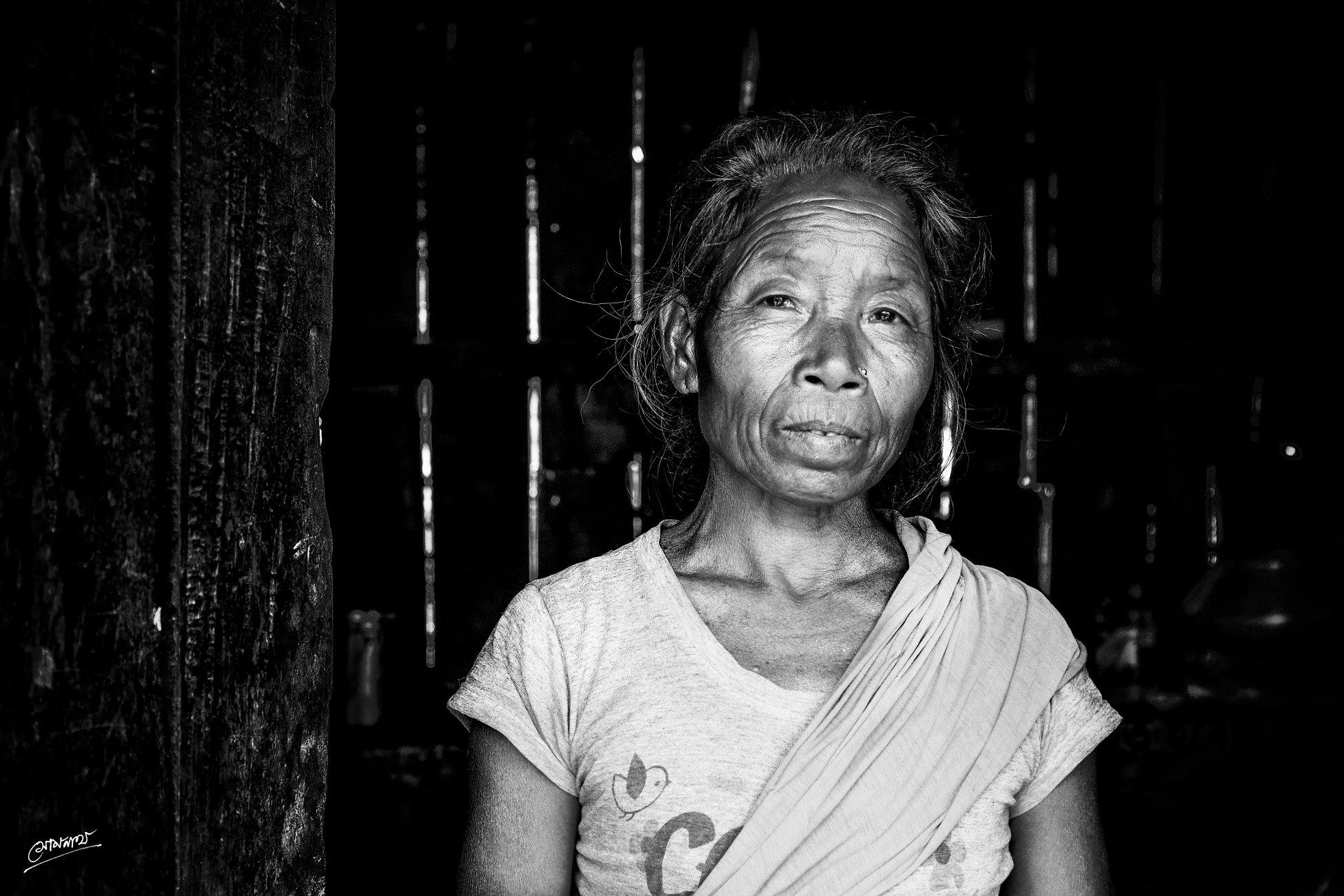A Tribal Lady...