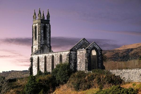 Dunlewey Church by SamCampbell