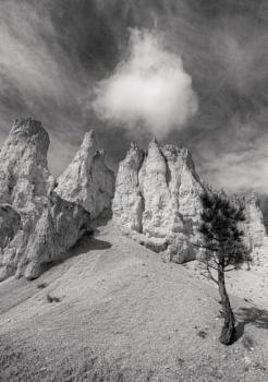 Winds on the desert