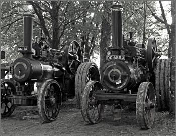 Steam engines at Boconnoc - 2