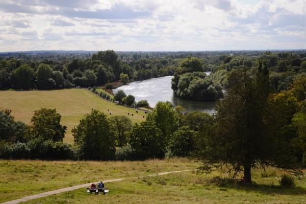 Richmond riverside in England by kurtstar