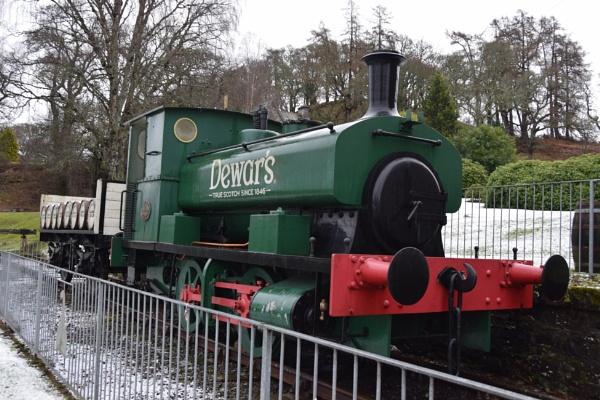 Dewar\'s Steam Train by davyskid