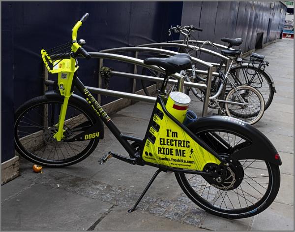 Electric Bike and Orange by AlfieK