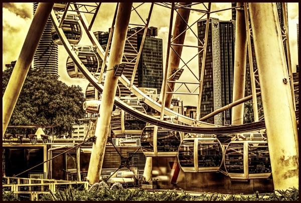 Wheel of Brisbane by Peco