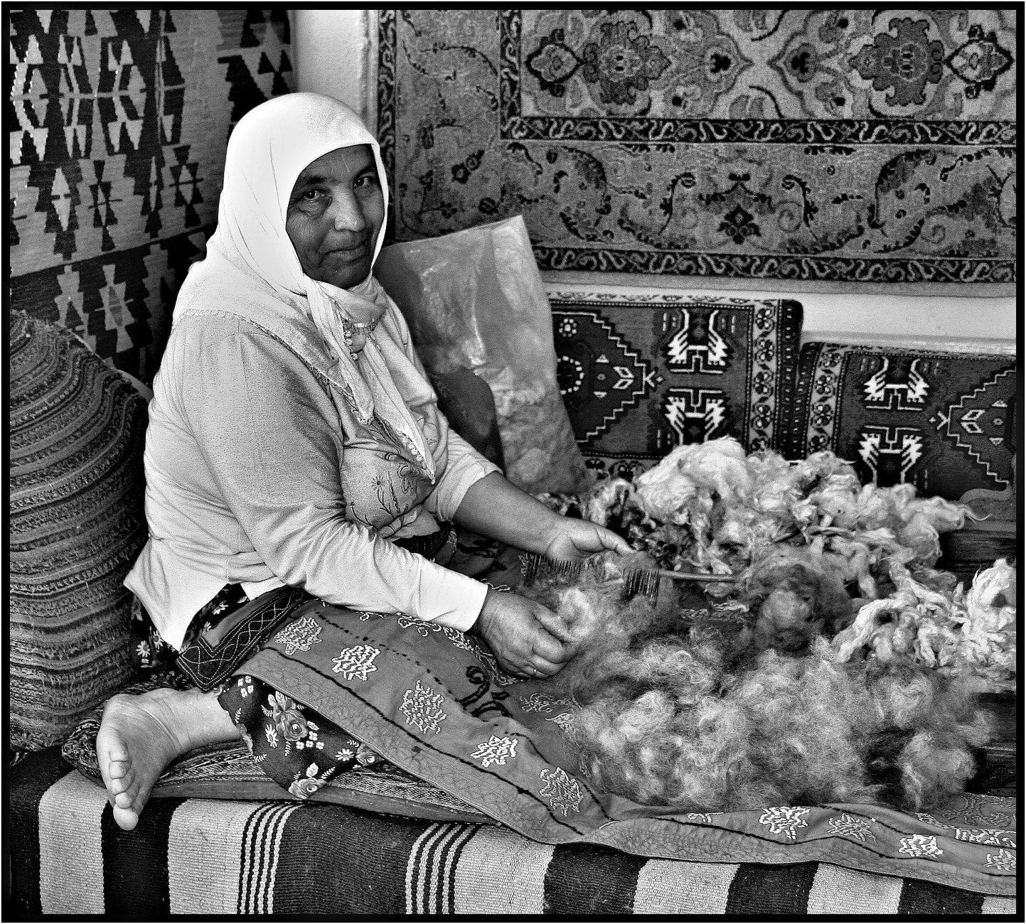 A Women of Wool.
