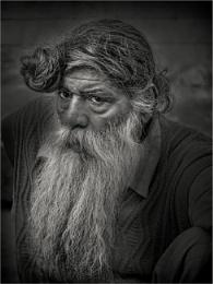 Old man of Delhi
