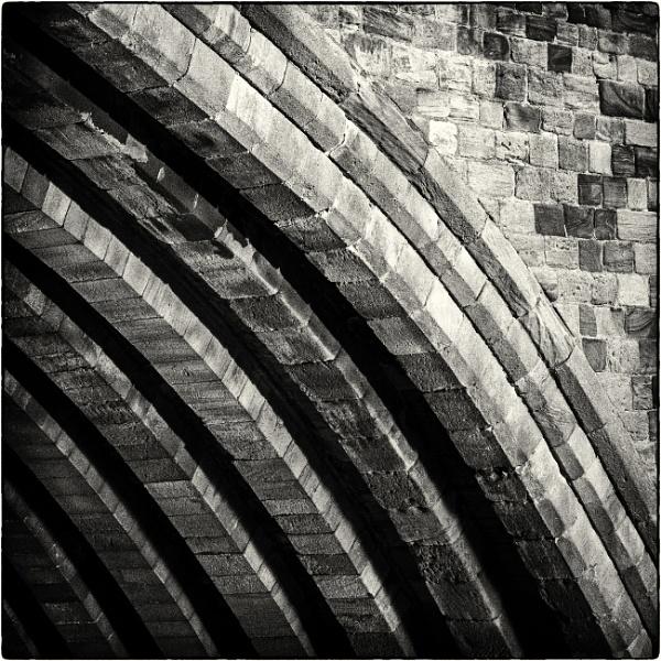 Under Framwellgate Bridge 1 by mrswoolybill