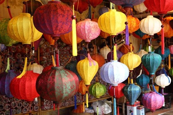 Vietnamese Lanterns by cheesefather