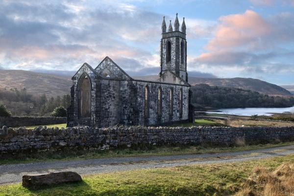 Dunlewey Old Church by SamCampbell