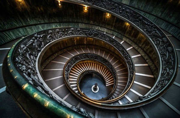 Bramante Staircase Classic Image by Pete2453