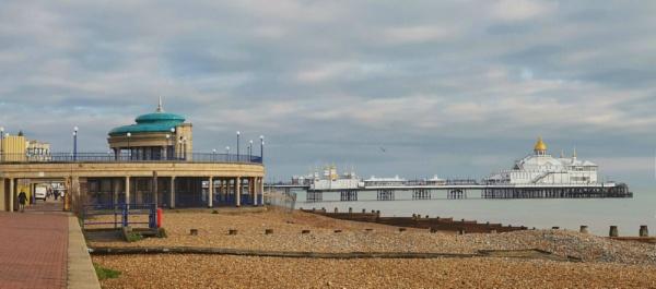 A winter tale Eastbourne Pier by StevenBest