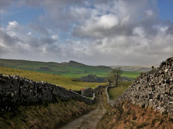 Yorkshire Dales landscape by cookyphil