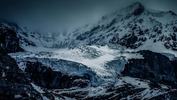 Andromeda Glacier II by Yogendra