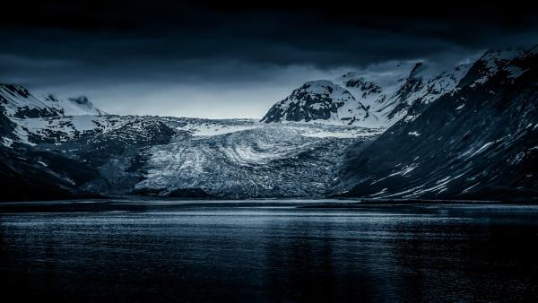 Moody Reid Glacier by Yogendra