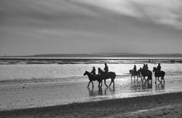 Hayling Island horse riders