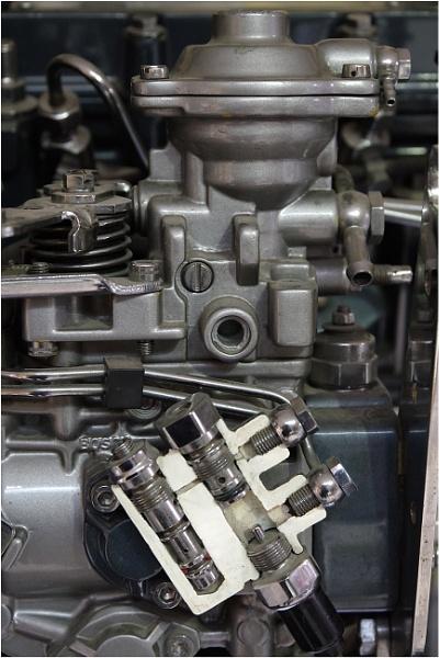 Ex-Perkins Exhibition Engine by johnriley1uk