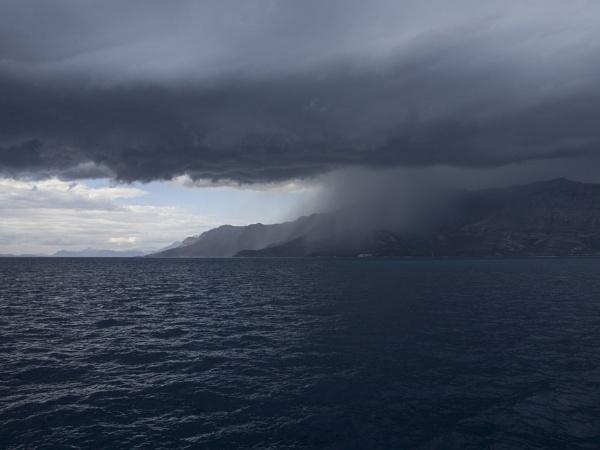 storm in Adriatic sea by Izak1333